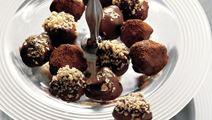 Chokoladekugler med ingefær