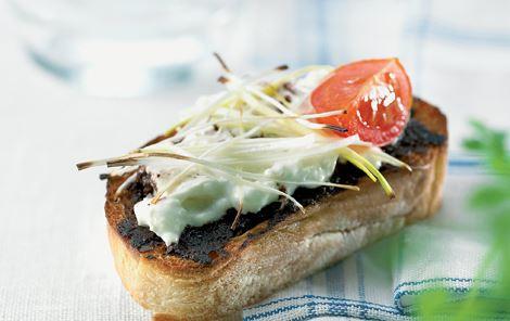 Bruschetta med oliventapenade