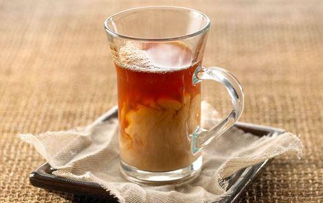 Te med fløde