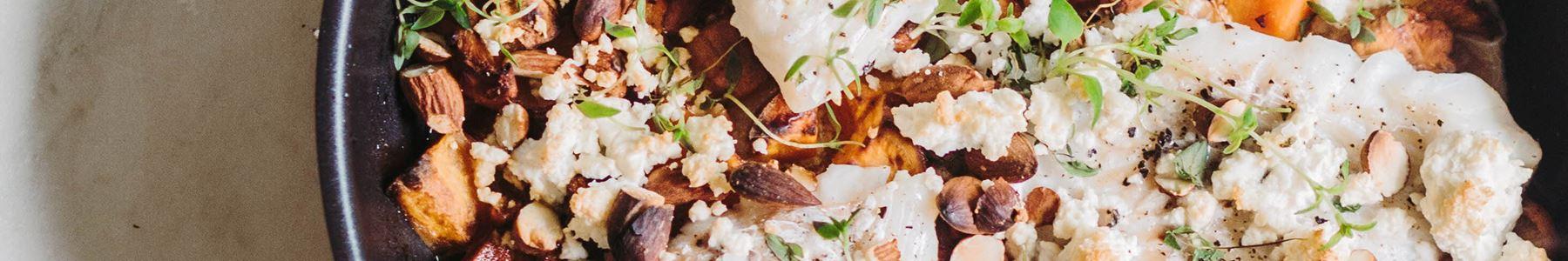 Svampe + Søde kartofler