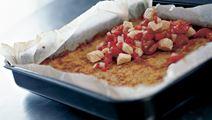 Ovnrøsti med tomat og kalkun