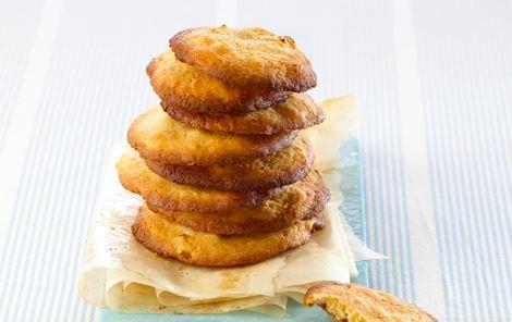 Cookies med abrikoser og fennikel