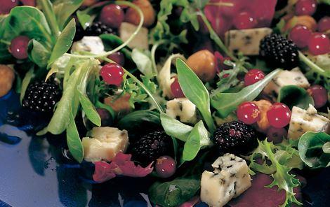 Salat himmelblå