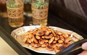 Krydderstegte mandler