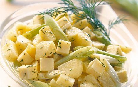 Kartoffelsalat med ostetern