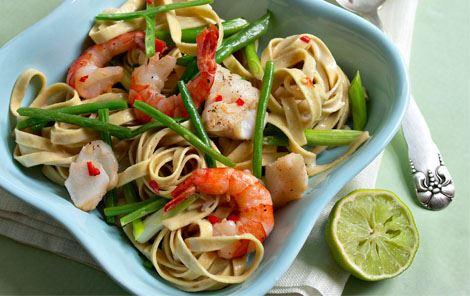 Ostesauce til pasta og torsk