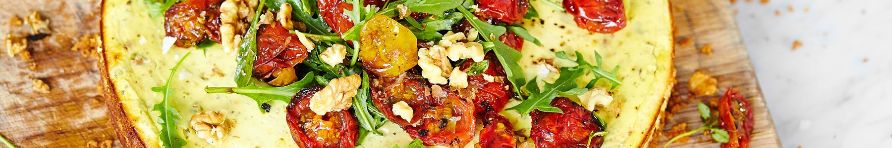 Tomat + Flødeost + Tærter