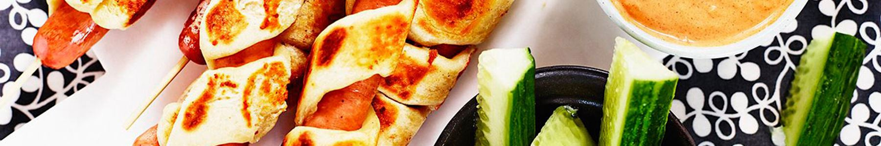 Brød og boller + Grøntsager + Mellemmåltid
