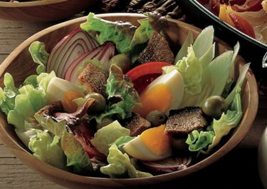 Middagssalat med kippers