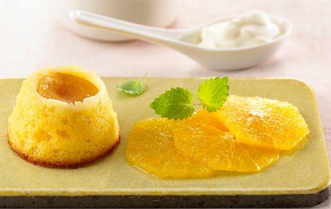 Abrikoskager med appelsincreme