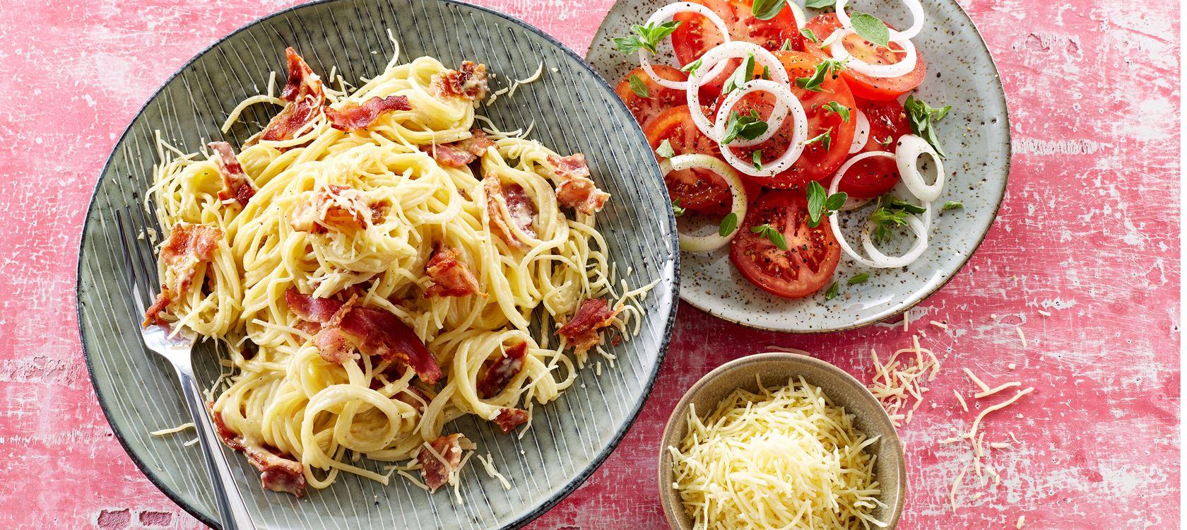 Spaghetti Alla Carbonara Opskrifter Arla