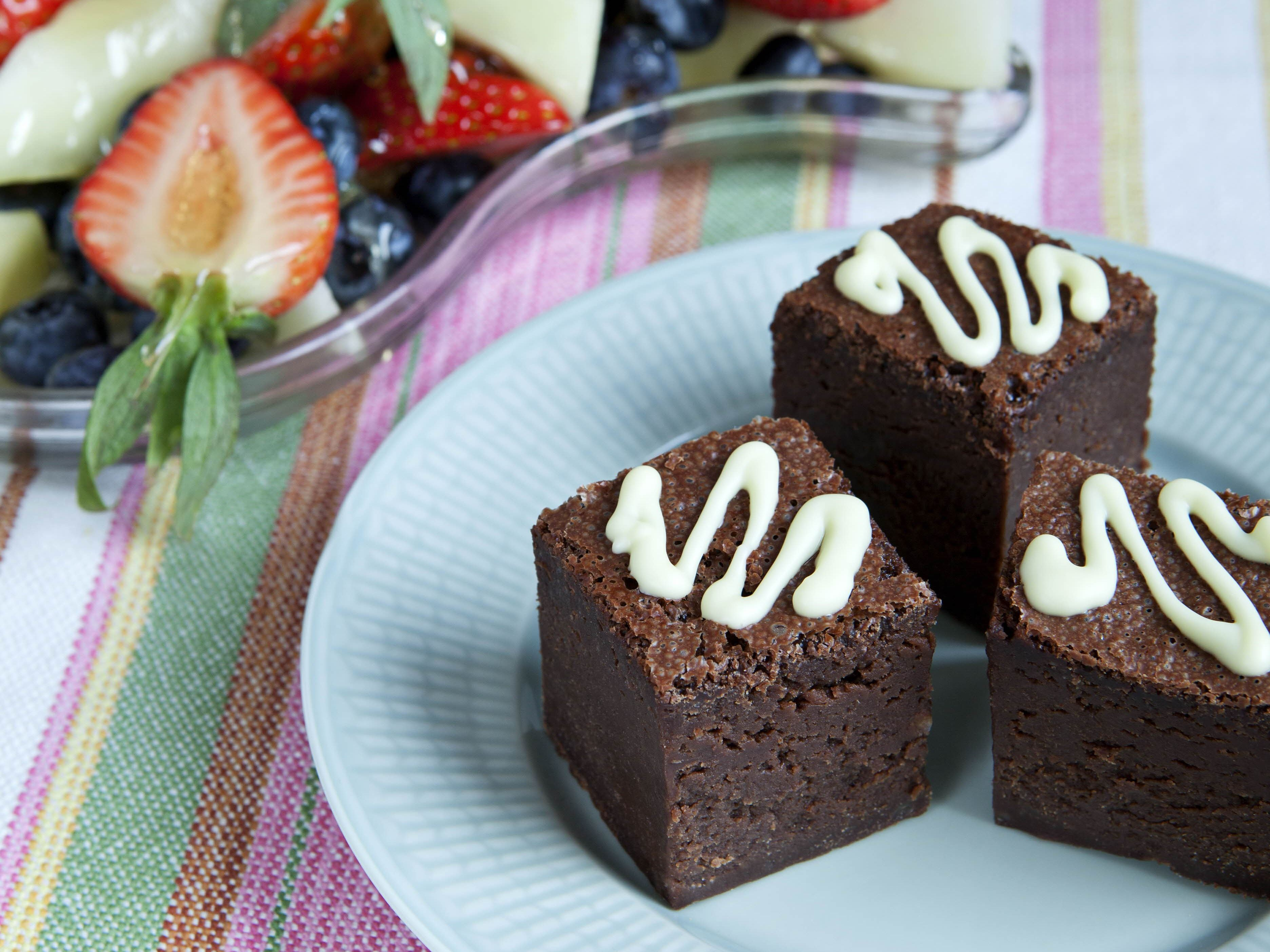 Chokoladedessertkager