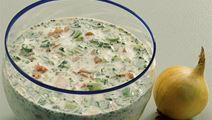 Kold yoghurtsuppe