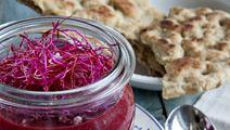 Rødbedesuppe med linser