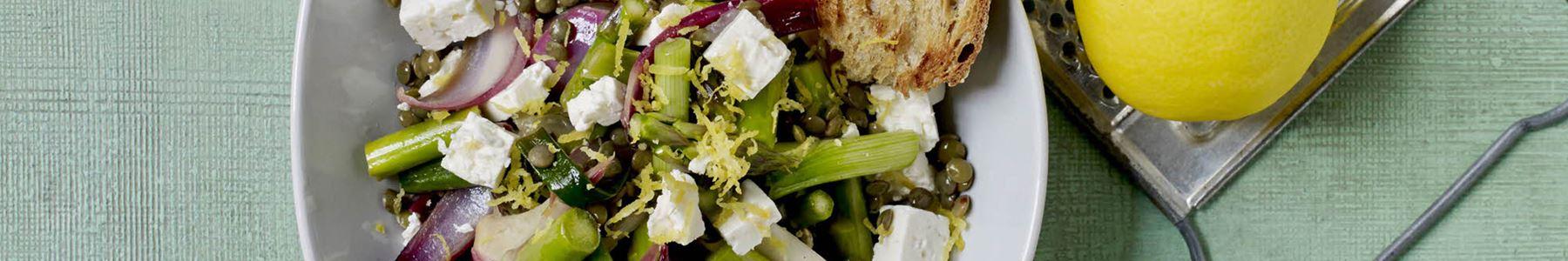 Salater + Hvidløg + Vegetarisk madplan