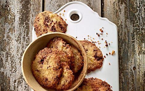 Ingefær- og chokoladecookies