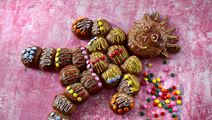 Kagemand af kakaoboller