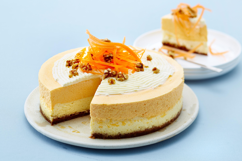 Gulerodscheesecake
