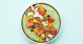 Greenie med skyr, spinat og ingefær
