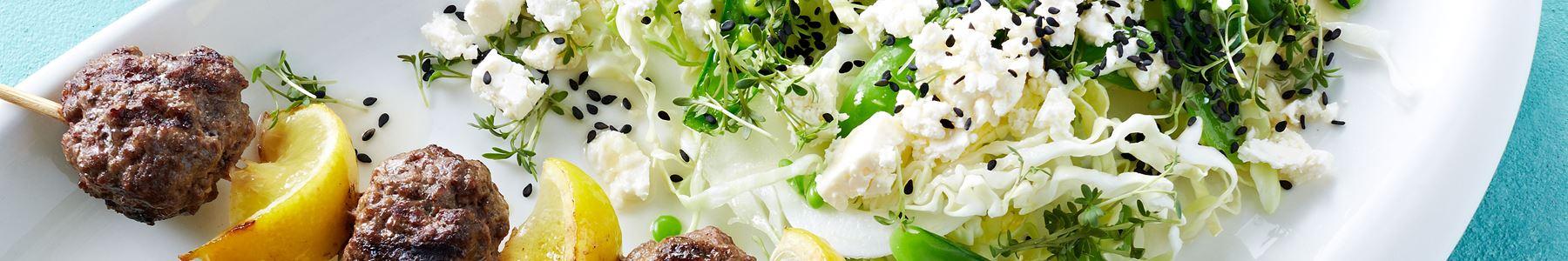 Salater + Spidskål + Grill