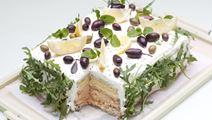 Marokkansk inspireret smørrebrødstærte