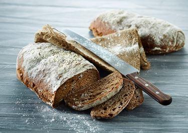 Maltbrød med kefir og rug