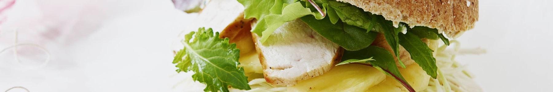 Ananas + Sandwich