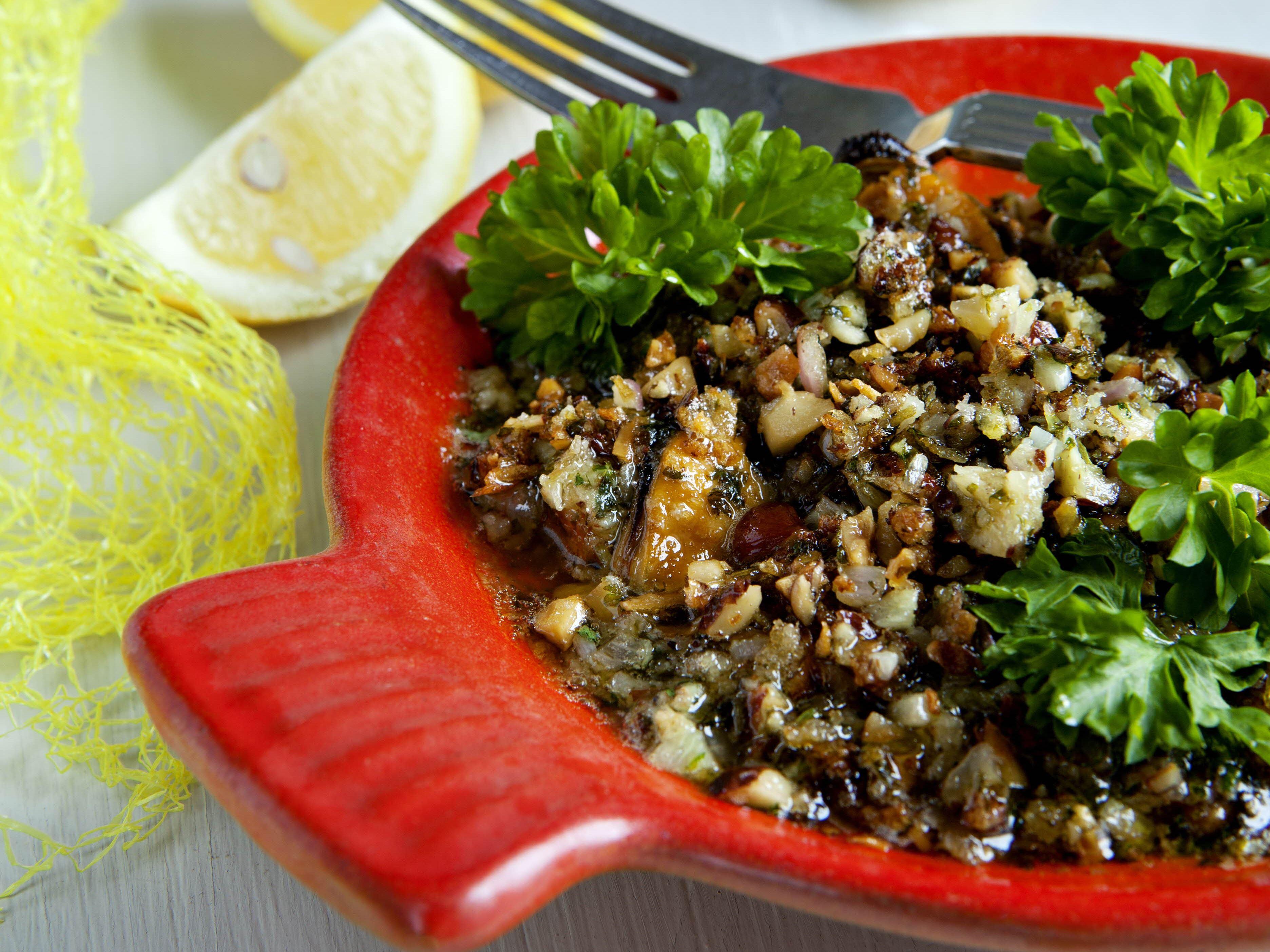 Muslinger med kryddersmør