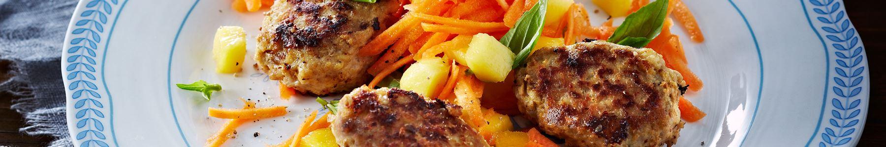 Hakket svinekød + Smørrebrød