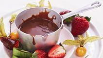 Chokoladesauce med havsalt