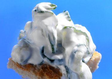 Græsk agurkesalat