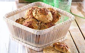 Hytteboller med abrikos og fuldkorn
