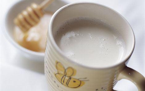 Citronmælk med kanel