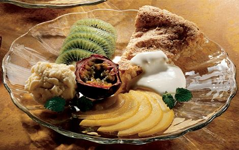 Desserttallerken