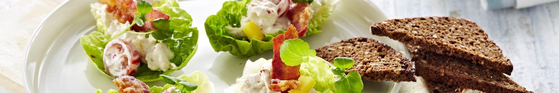 Bacon + Snacks og tapas