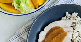 Kalkunbryst med mangosalat
