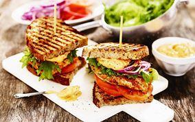 Kyllingesandwich med mojo rojo