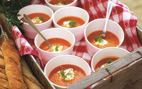 Grøntsagssuppe med fennikel