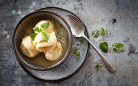Abrikos- og yoghurtis