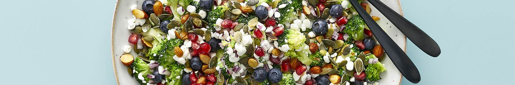 Blåbær + Salater