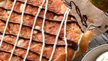 Marcipankage med pærer og anisfrø