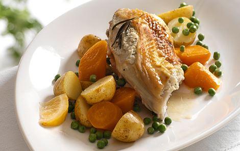 Kylling i ovn med rosmarin