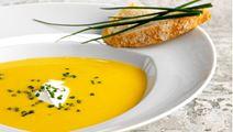Græskarsuppe med kardemomme og appelsin