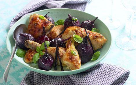 Kylling med smag af appelsin og vanilje