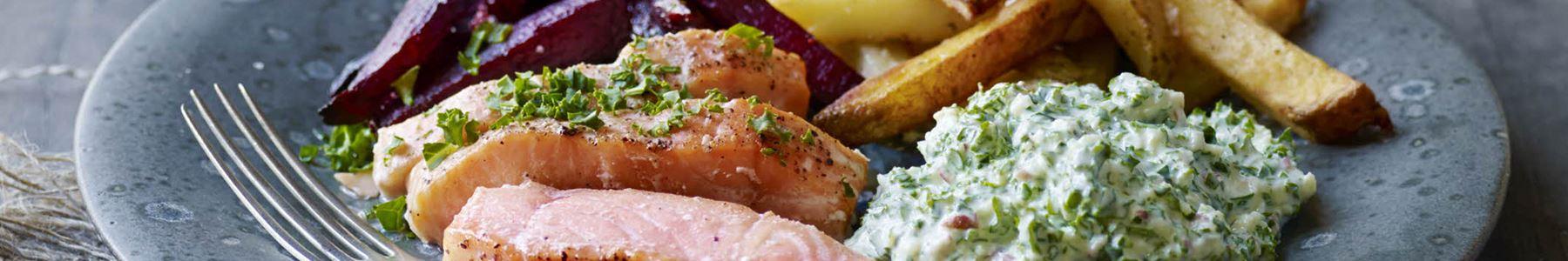 Grønkål + Fisk og skaldyr