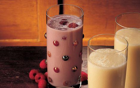 Hindbærmælk