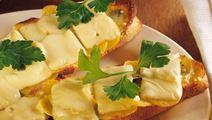 Kartoffelostebrød