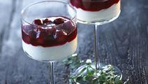Yoghurtfromage med mandler