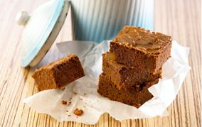 Brownies med ingefær og lime