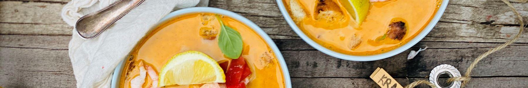 Tomat + Fisk og skaldyr